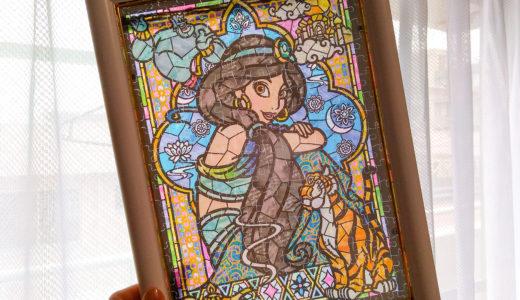 ジグソーパズルのススメ② 窓際に飾りたい【ディズニーステンドアートパズル】